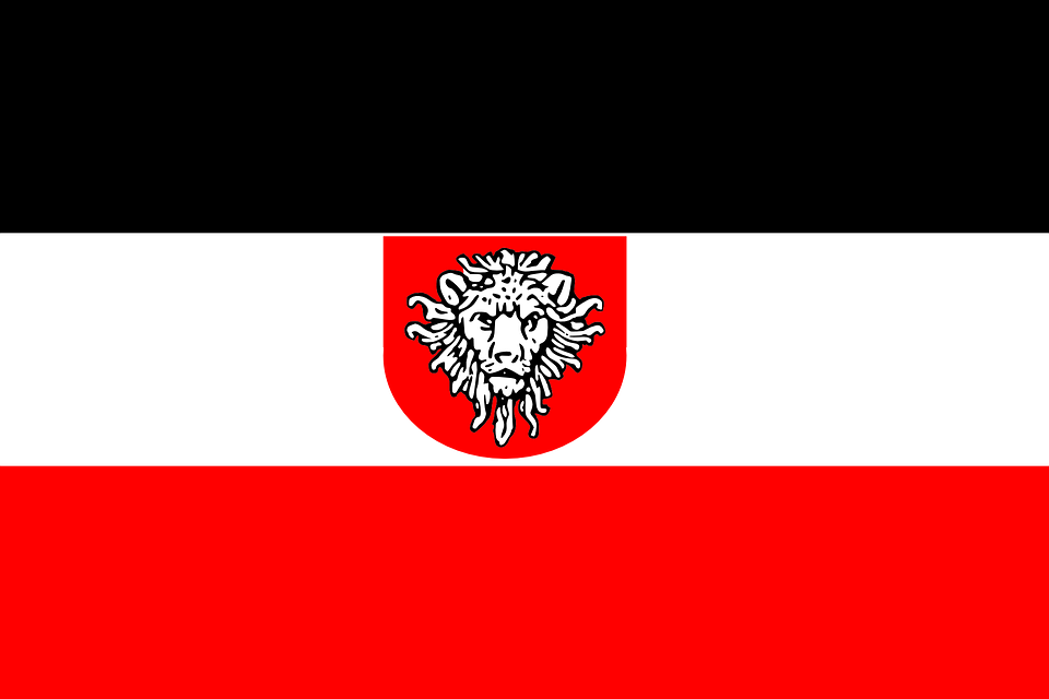 German East Africa, Flag, Historical