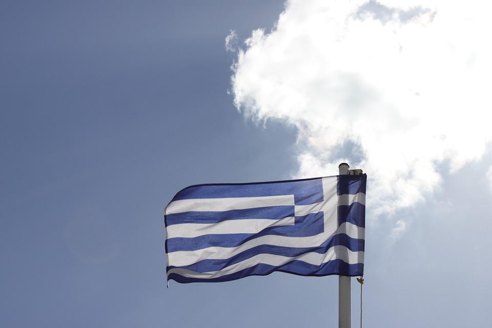 Greece, Flag, Holiday, Travel