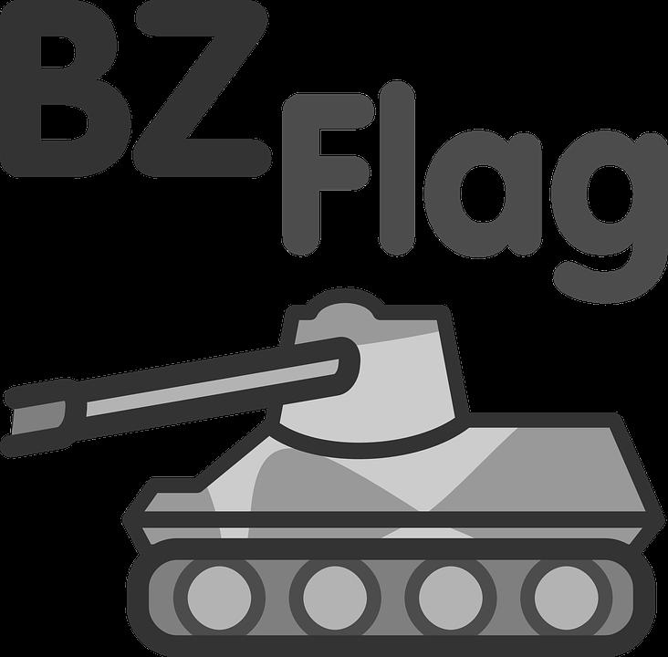 Tank, Flag, Symbol, Icon