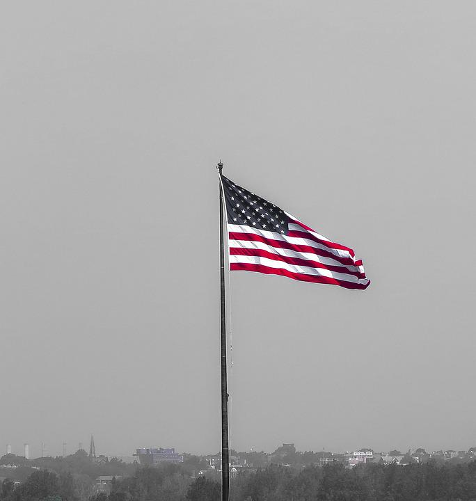 Flag, Usa, Independence, Patriotism, The Nation