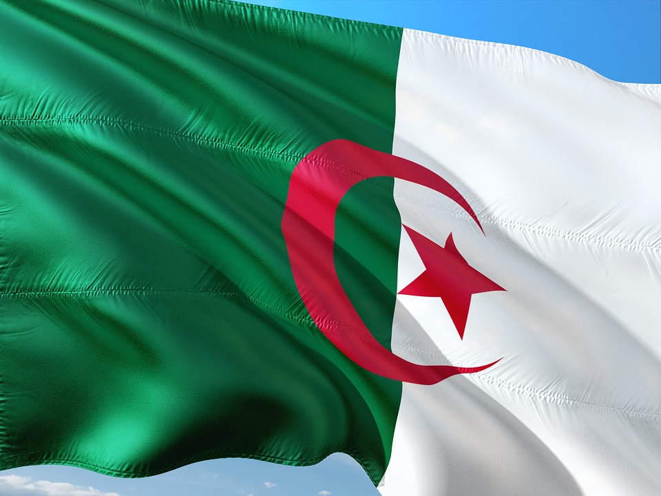 International, Flag, Algeria