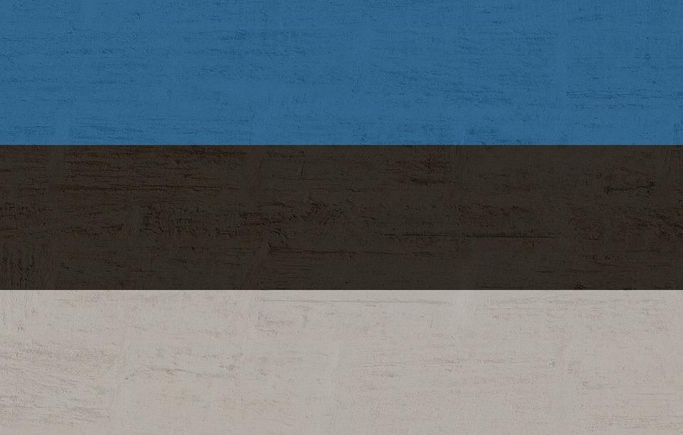 Estonia, Flag, International