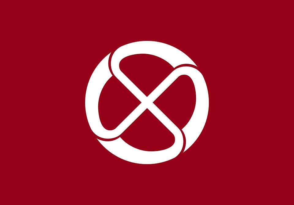 Flag, Japan, Japanese, Asian, Asia, Wheel, Circle