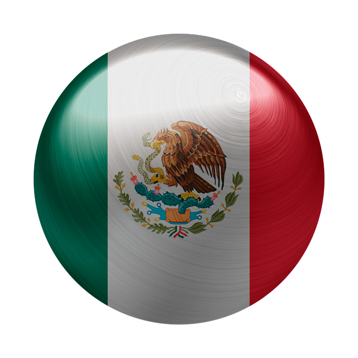 Mexico, Flag, Country, National, Coat Of Arms, Nation
