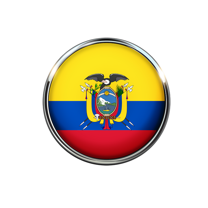Flag, Ecuador, Home, Circle, Free Image, Nation