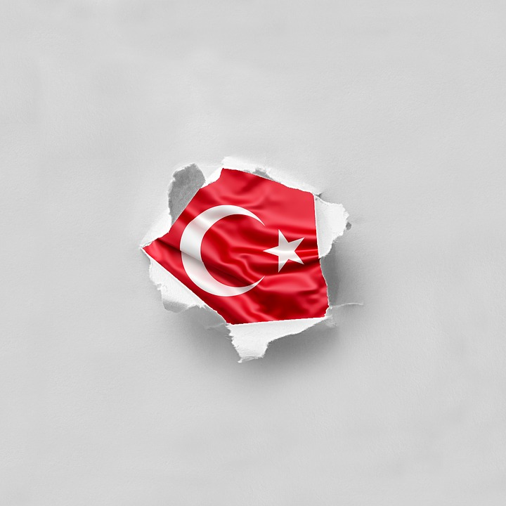 Symbol, Flag, Patriotism, Paper, Turkish, Turkey, Torn