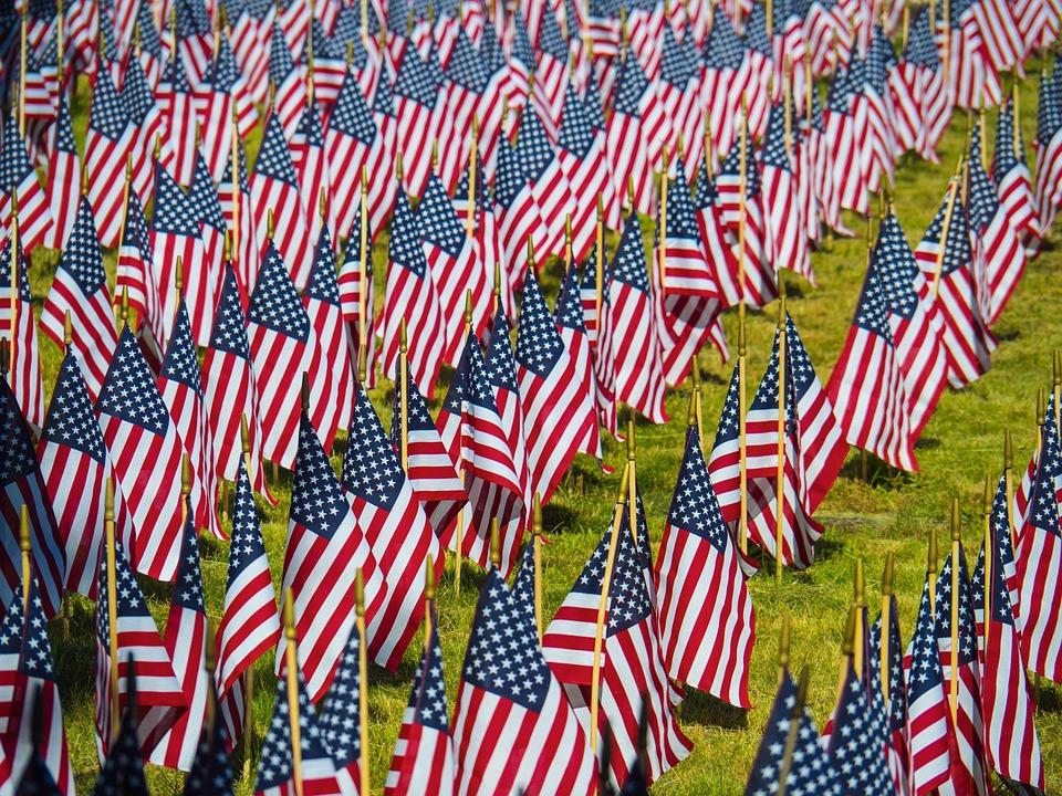 Flag, Usa, Patriotic, America, Stripes, States, United