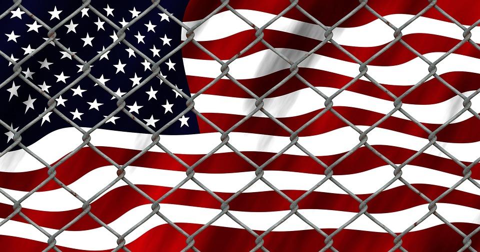 Refugee, Crisis, Refugee Crisis, Usa, Flag, Escape