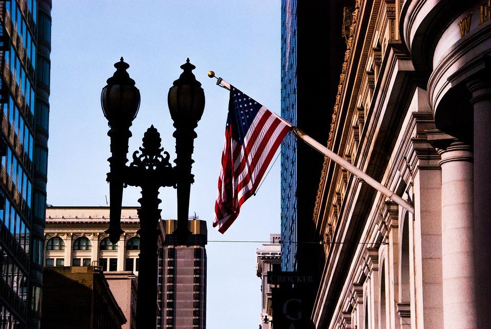 Sfo, Sanfransico, Flag, Usa