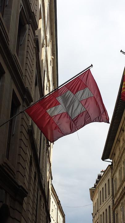 Swiss, Flag, Switzerland, European, Europe, Country