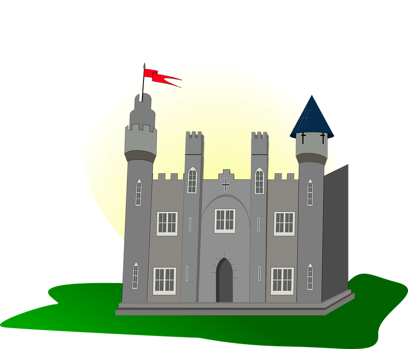 Castle, Flag, Tower, Medieval, Fortress, Palace