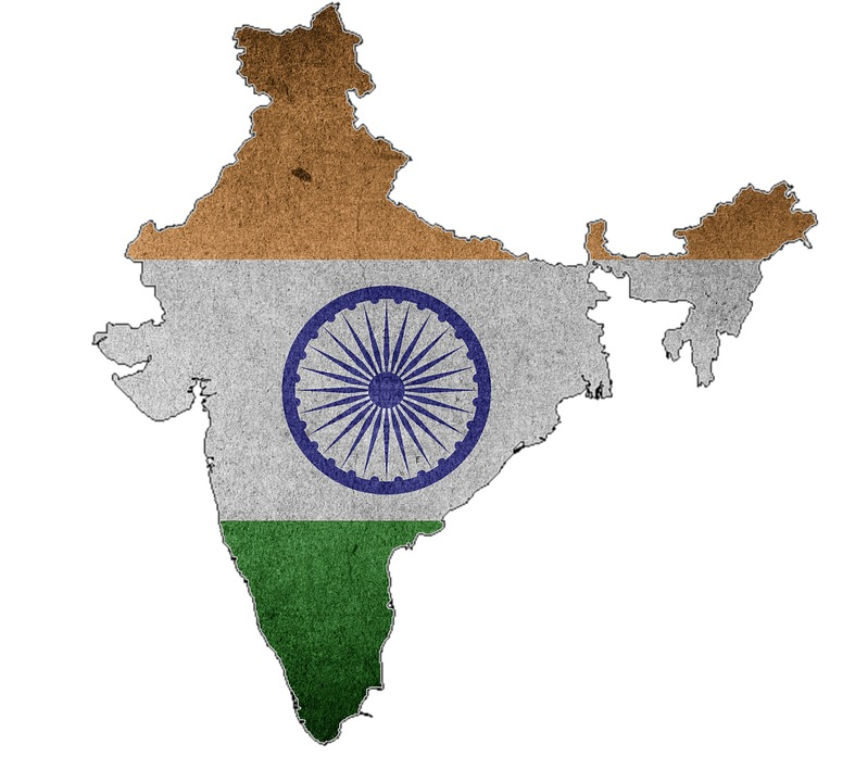 India, Flag, Map, Country, India Flag, Tricolor