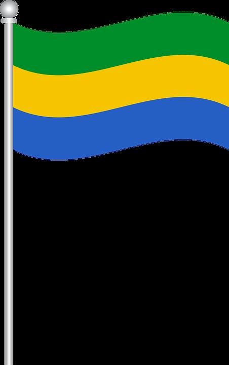 Flag Of Gabon, Flag, Gabon, World Flags