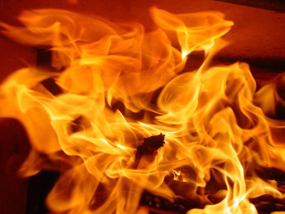 Fire, Flame, Heat, Energy, Burn, Orange, Red, Glow