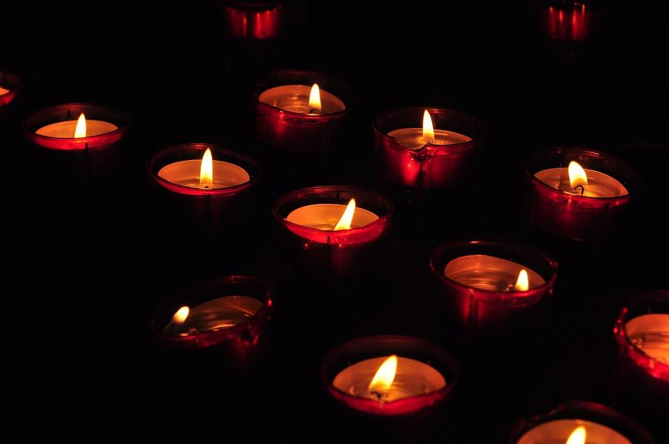 Candle, Church, Candlelight, Flame, Religion, Faith