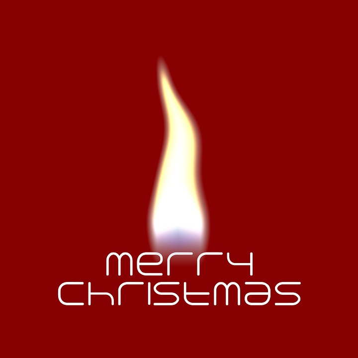 Flame, Christmas, Red, White, Silhouette, Light, Advent