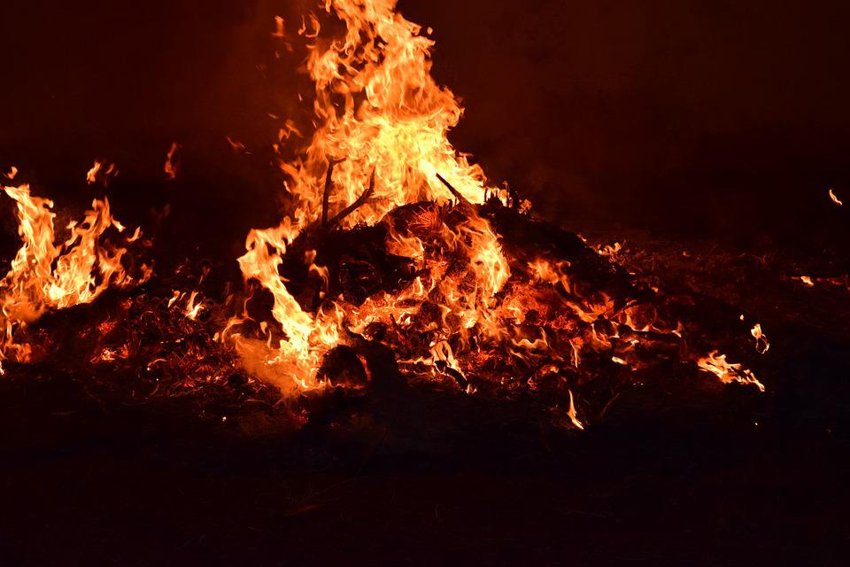 Fire, Flame, Burn, Wood Fire, Campfire, Beautiful