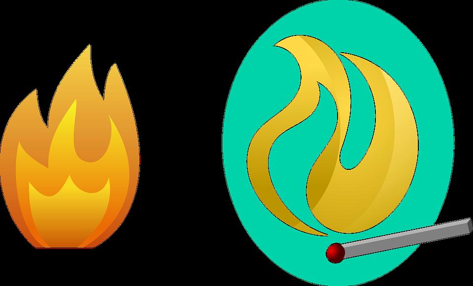 Fire, Flame, Burn, Heat, Hot, Red