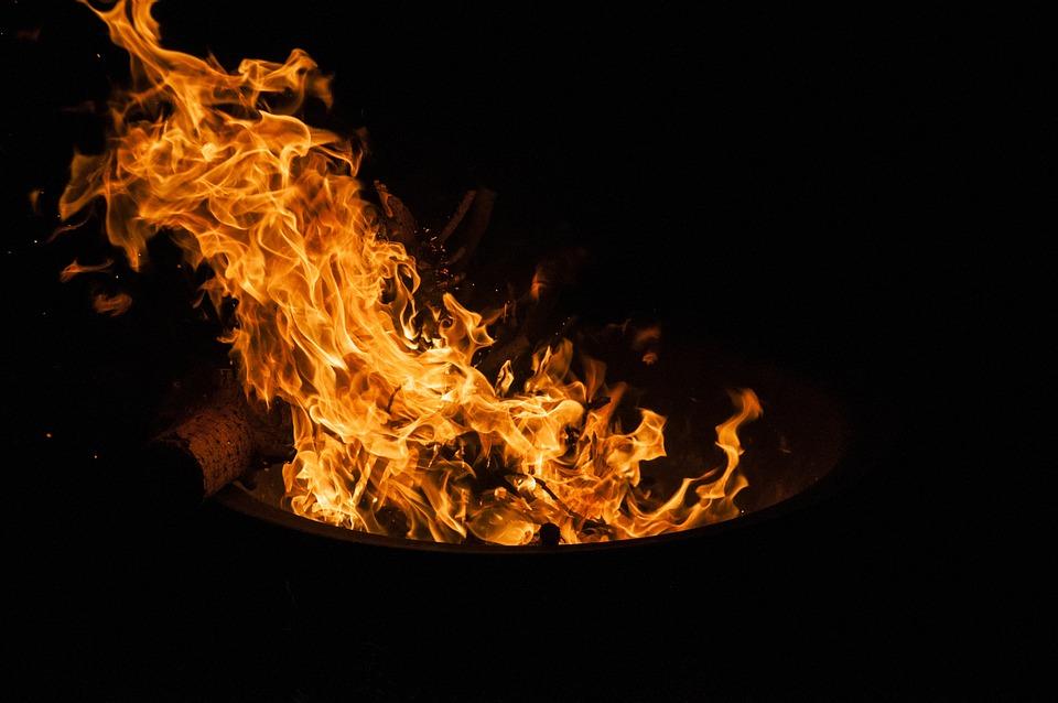 Flame, Hot, Flammable, Heat, Burn, Smoke, Campfire
