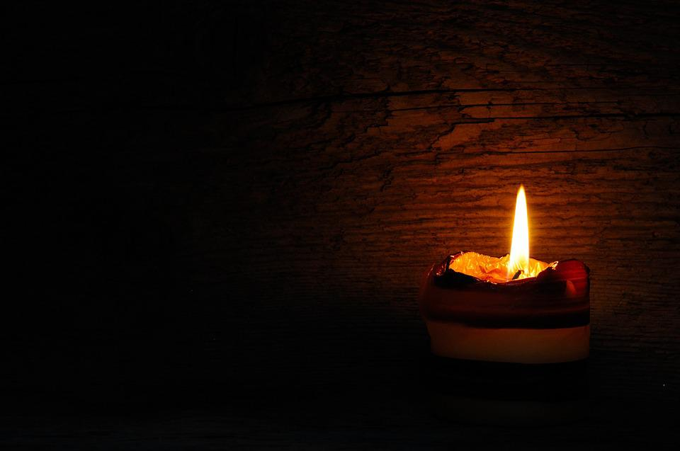 Candle, Flame, Candlelight, Wood, Light
