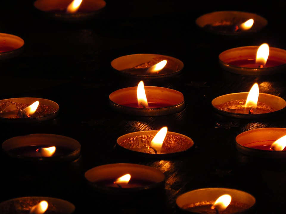 Tea Lights, Lights, Burn, Candles, Light, Flame