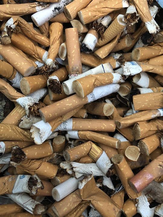 Tobacco, Nicotine, Addiction, Ash, Flame, Garbage