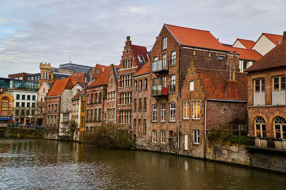 Belgium, Gent, Ghent, Building, Flanders, Architecture
