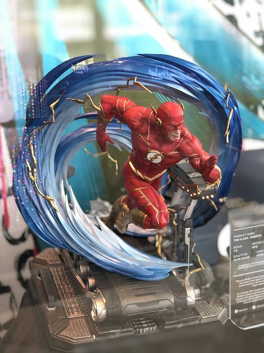 Flash, Comic Book, Hero, Superhero