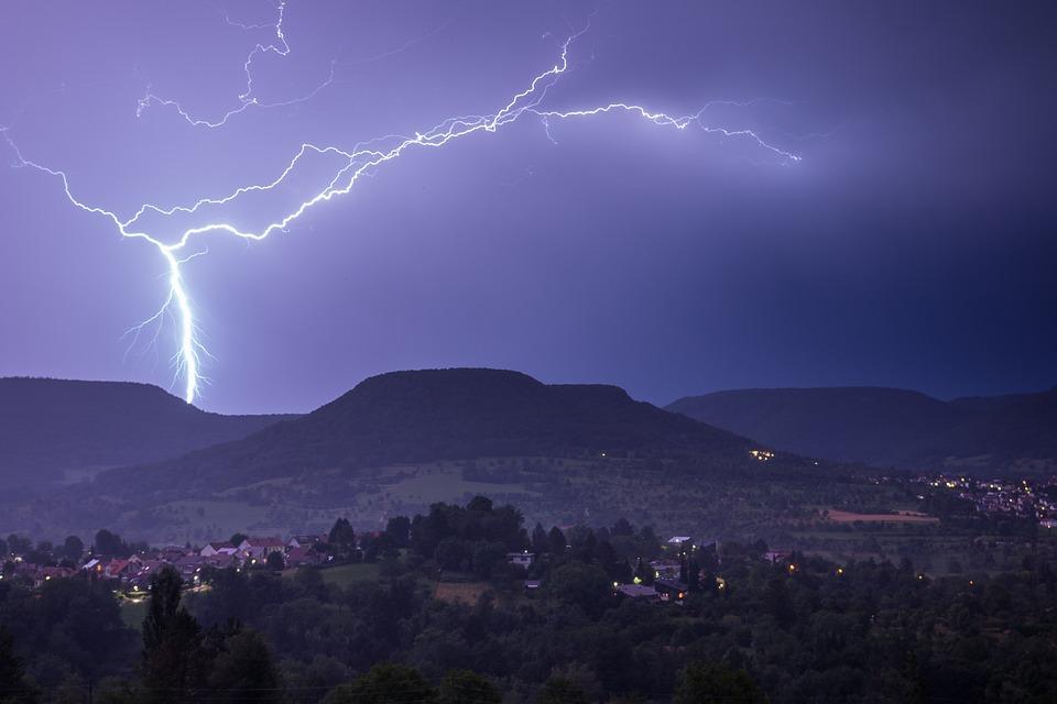 Flash, Thunderstorm, Storm, Flash Of Lightning
