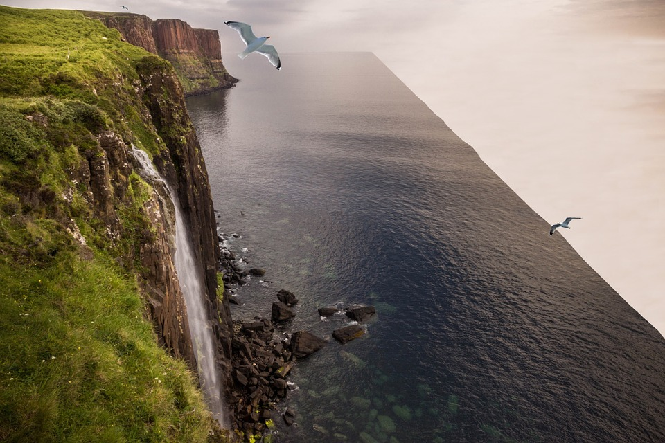 Flat Earth, World's Edge, Edge Of The World, Ocean