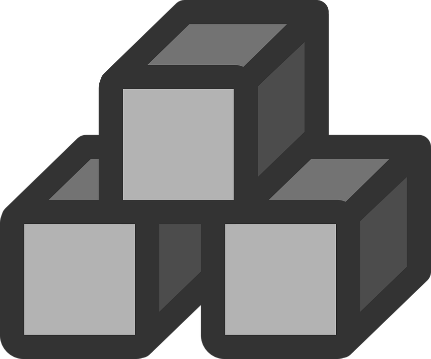 Flat, File, System, Device, Block, Computer, Icon