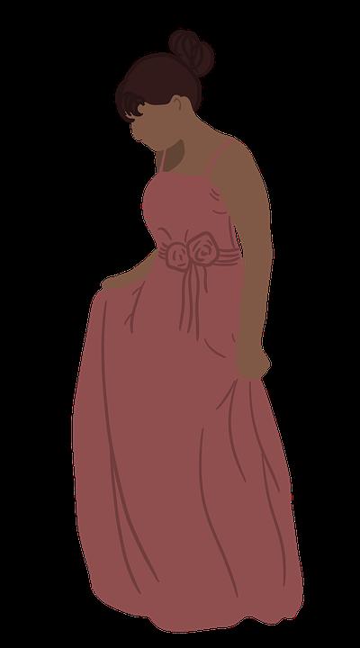 Woman, Girl, Dress, Beautiful, Fashion, Flat