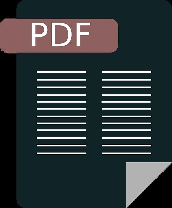 Pdf, Icon, Document, Symbol, File, Download, Flat, Doc