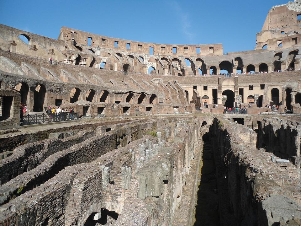 Colosseum, Coliseum, Flavian Amphitheatre, Gladiators