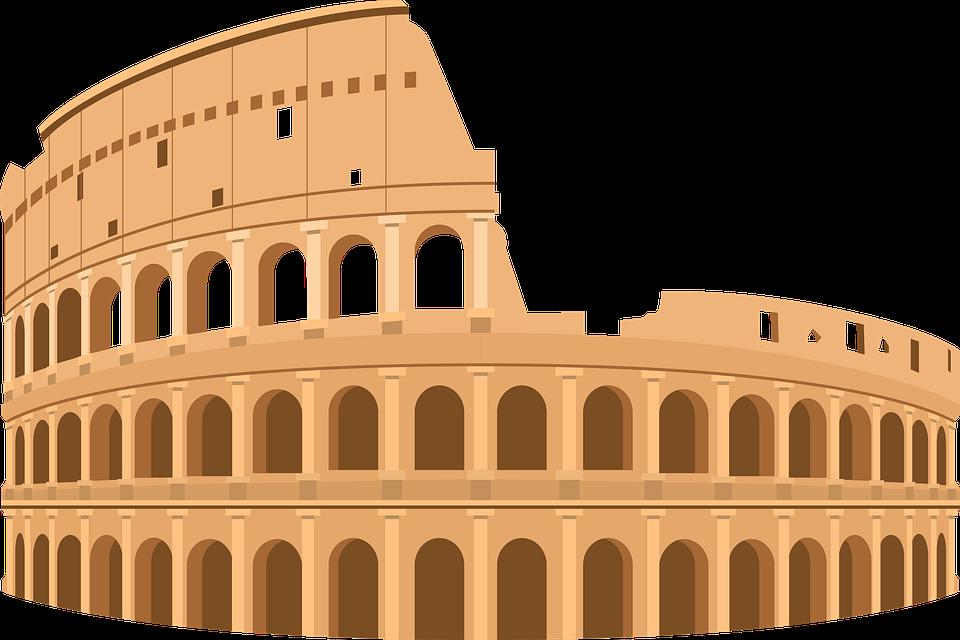 Colosseum, Rome, Italy, Flavian, Amphitheatre, Ruins