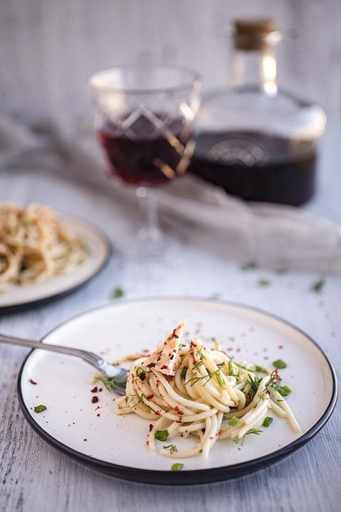Pasta, Basil, Flavor, Food, Natural
