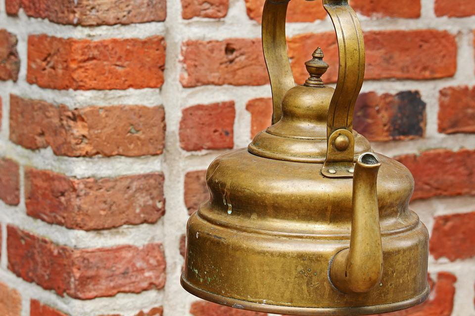 Antique, Old Tea Kettle, Junk, Flea Market, Boiler