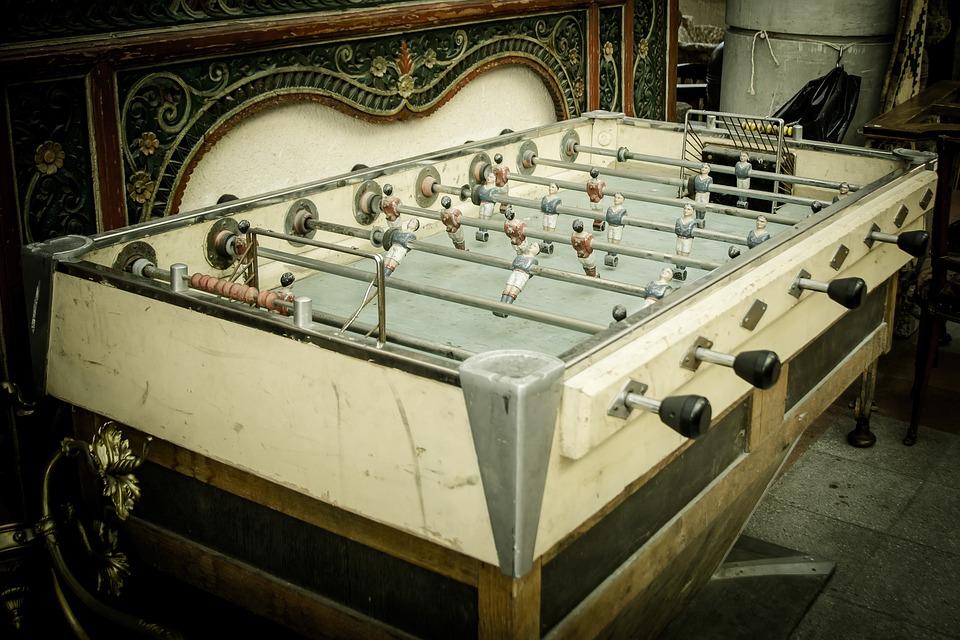 Wuzler, Table Football, Flea Market, Old, Junk