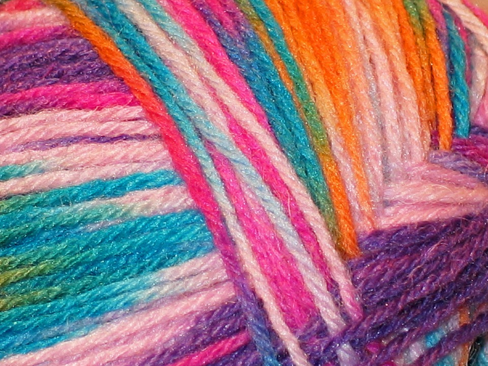 Flecked, Heathered Wool, Wool, Knit, Structure
