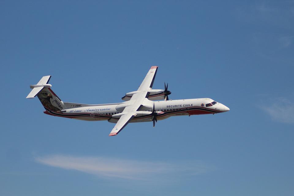 Aircraft, Dash, Flight, Air, Sky, Airshow