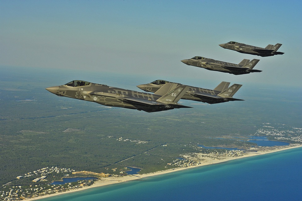 Fighters, Jets, Military, Flying, Flight, Squadron