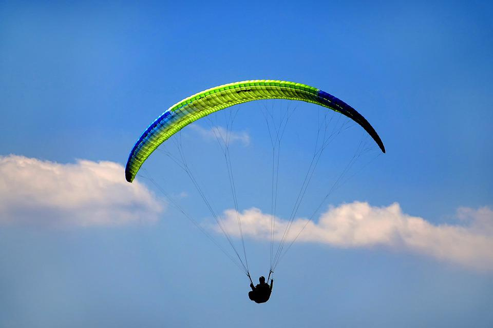 free photo flight sky paragliding air parachute glide fly max pixel