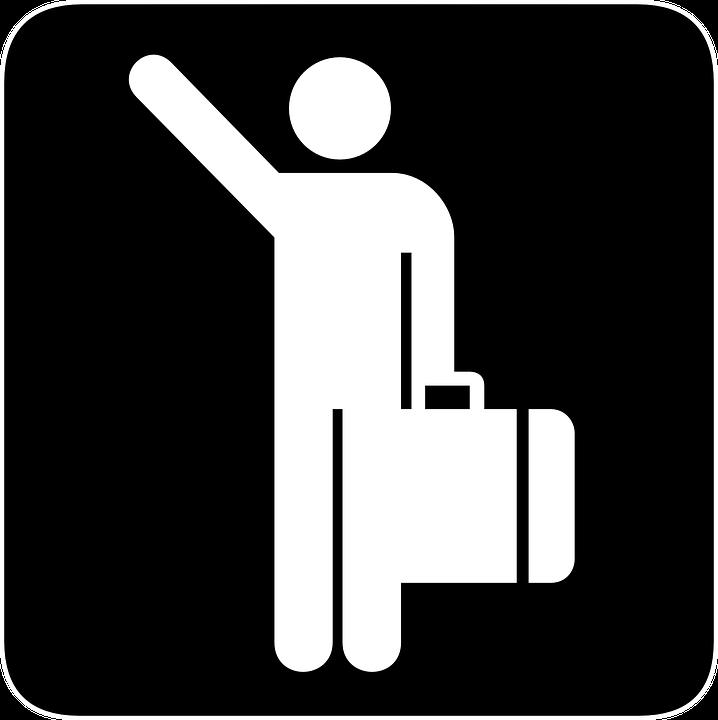 Suitcase, Arriving, Flights, Passenger, Flight, Arrives