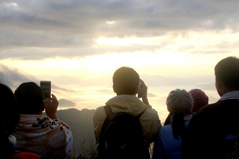 Phu Chi Fa, Flights Phu, Tourism, The Landscape, Hill