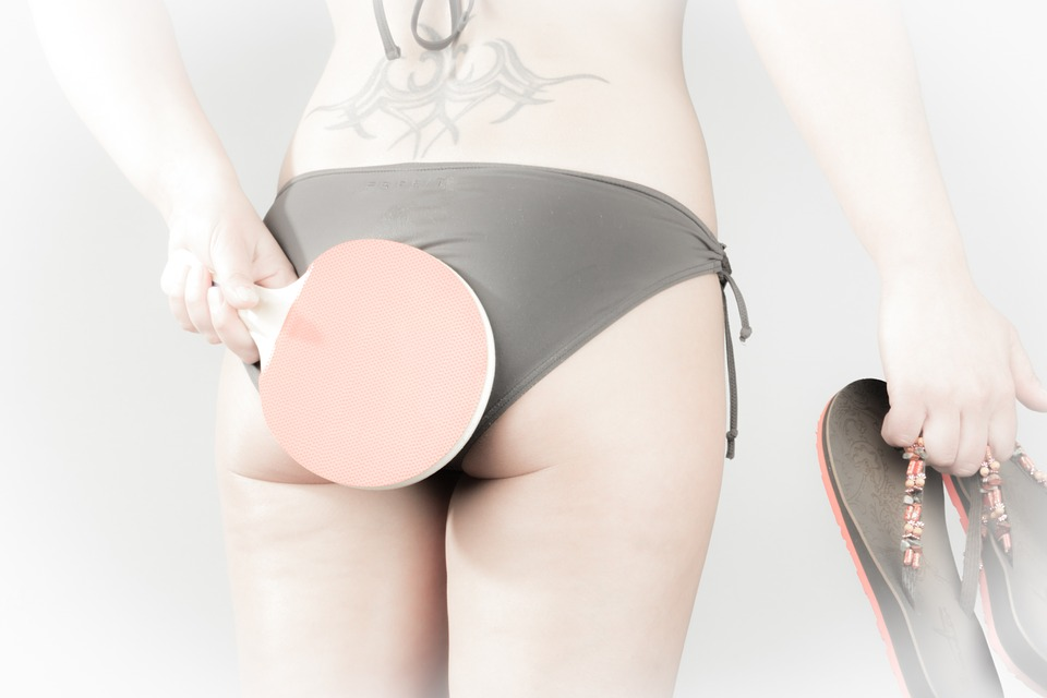 Table Tennis, Ping-pong, Ping Pong, Bikini, Flip Flop