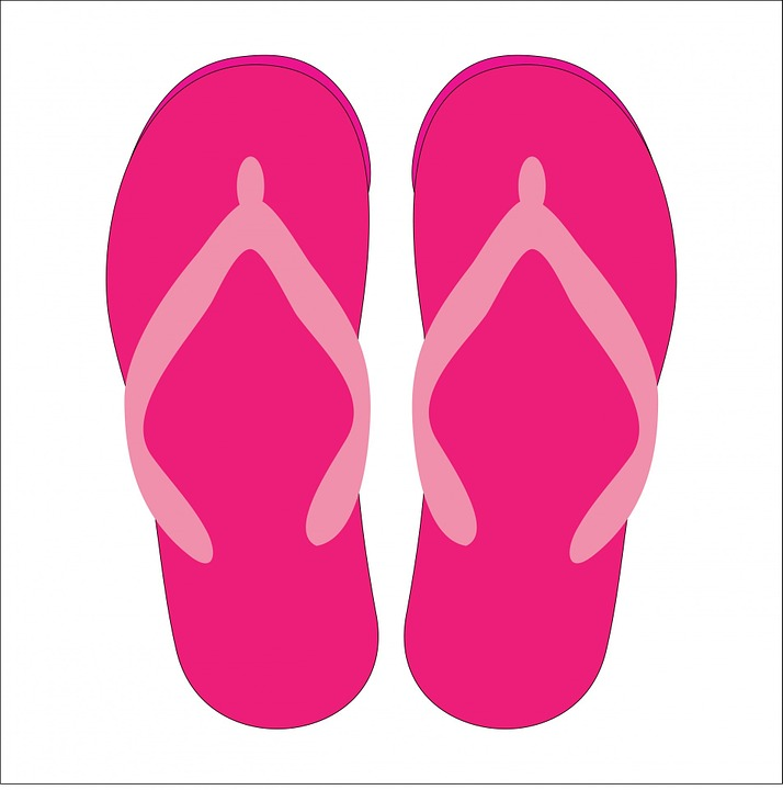 8135946d6 Free photo Flip Flops Sandals Shoes Footwear Beach Shoes - Max Pixel