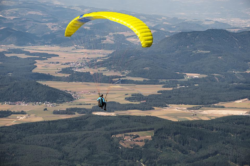 Parachute, Paragliding, Freedom, Flying, Float, Sport