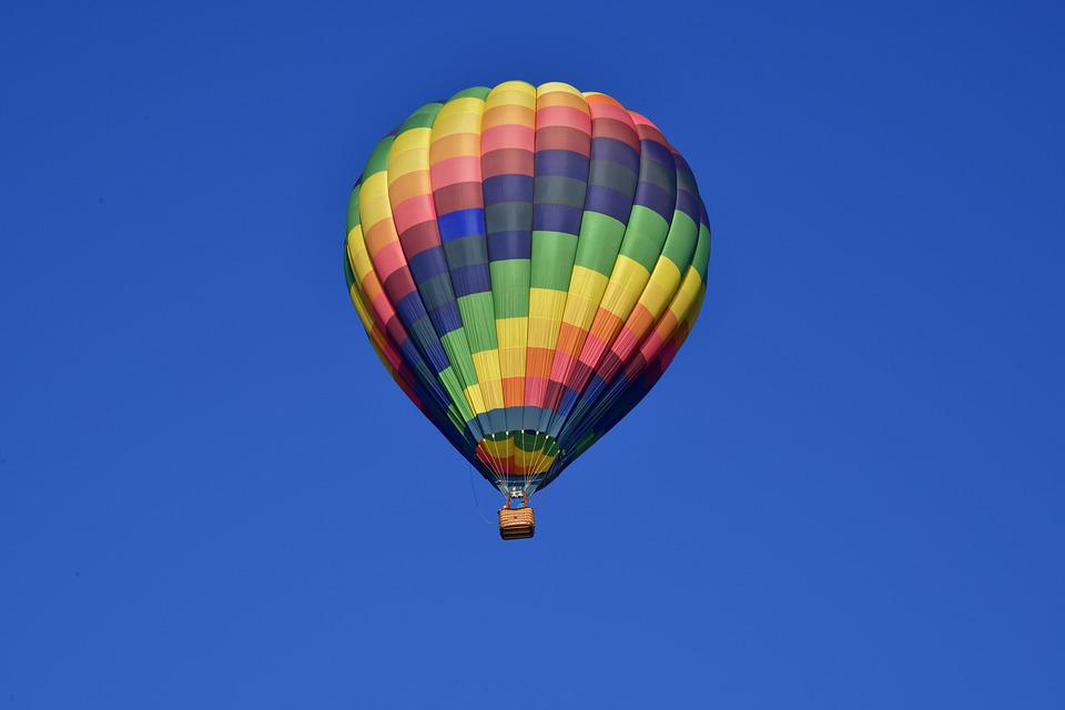 Hot Air, Balloon, Sky, Adventure, Colorful, Floating