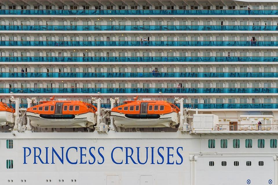 Cruise, Ship, Floating Hotel, Balconies, Lifeboat