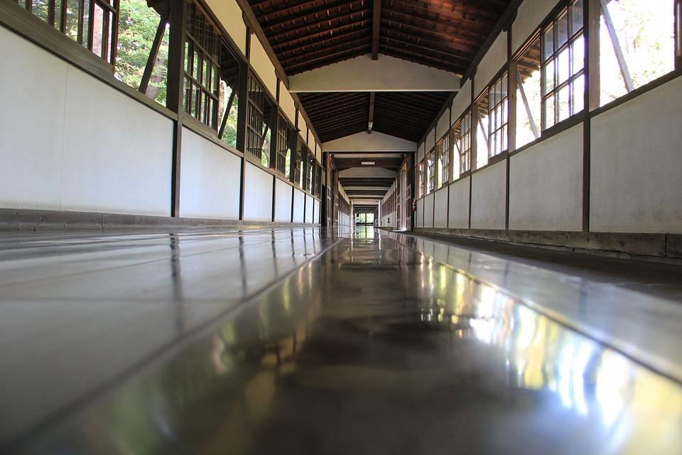 Floor, Reflection, Wood, Architecture, Light